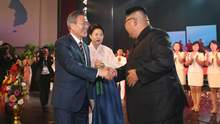 Історичний Корейський саміт у Пхеньяні: про що домовилися лідери КНДР і Південної Кореї