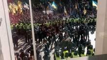 В столкновениях под Верховной Радой пострадали 4 человека