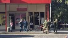В оккупированном Донецке произошел взрыв: фото