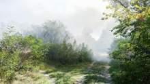 Велика пожежа на Русанівських садах сталася у Києві: фото, відео