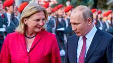 Путін на весіллі глави МЗС Австрії: скільки витратили на охорону