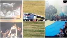 Главные новости 14 октября: скандал в Конотопе, авиакатастрофа в Германии и праздничные парады
