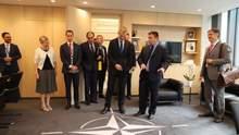 Про що говорив Клімкін на зустрічі з генсеком НАТО
