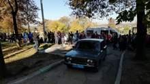 Из-за выходки 14-летней ученицы школы в Запорожье эвакуировали 350 детей: фото, видео