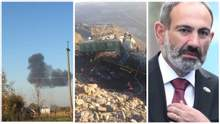Главные новости 16 октября: падение СУ-27 и столкновение поездов в Украине, отставка Пашиняна