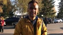 На журналиста Дмитрия Гнапа вылили ведро нечистот на Полтавщине: подробности