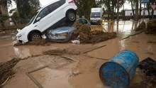 Жахлива повінь в Іспанії затопила будинки та вулиці: фото і відео