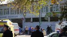 В Керчи возобновили обучение в пресловутом колледже, на территории – люди в масках: фото и видео