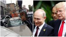 Главные новости 23 октября: масштабное ДТП с автокраном в Киеве, Путин и Трамп вновь встретятся
