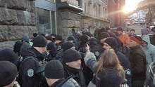 У Києві затримали помічника Надії Савченко, сталися сутички: відео