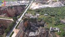 У Португалії дорога обвалилася в кар'єр, є загиблі: фото та відео