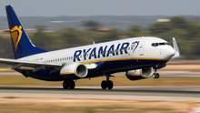Ryanair запустить нові рейси з Києва у 2019 році