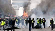 """""""Жовті жилети"""": чому протести у Франції набирають обертів і до чого тут Росія?"""