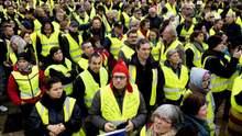 """Протести """"жовтих жилетів"""" охопили ще одну країну"""