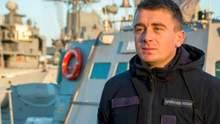 """Командир судна """"Нікополь"""" назвав себе військовополоненим та відмовився давати свідчення"""