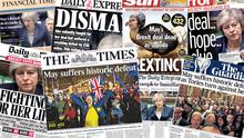 Найбільша поразка в історії: що британські ЗМІ пишуть про провал Brexit