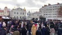 Томос-тур Порошенка: на зустріч з президентом на Волині людей звозили автобусами