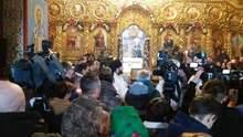 У Києві відбувається панахида за загиблими захисниками Донецького аеропорту: фото