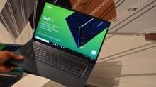 Найлегші 15-дюймові ноутбуки Acer Swift 5 вже доступні в Україні: характеристики та ціна