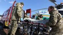 В Киев привезли много тяжелораненых военнослужащих с Донбасса: бойцам нужна кровь