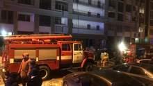 В Печерском районе Киева горела многоэтажка