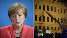 """Главные новости 16 февраля: заявление Меркель о """"Северном потоке-2"""" и обвал здания вуза в России"""