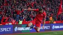 Туреччина катком пройшлася по Молдові в матчі відбору до Євро-2020: відео