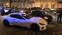 У Києві сталась стрілянина за участю водія Maserati: фото і відео