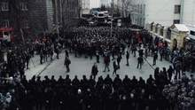 Нацкорпус знову зібрався на мітинг у Києві: прийшло багато літніх людей (фото, відео)