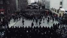 Нацкорпус снова собрался на митинг в Киеве: пришло много пожилых людей (фото, видео)