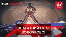 Вести Кремля: Балерина Волочкова защитила Путина. Странный русский робот