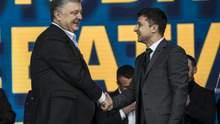 """Як пройшли дебати Порошенка і Зеленського на """"Олімпійському"""": фото і відео"""