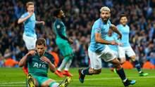 """""""Манчестер Сіті"""" мінімально переміг """"Тоттенхем"""" і повернув лідерство в АПЛ: відео голу"""