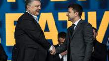 """Как прошли дебаты Порошенко и Зеленского на """"Олимпийском"""": фото и видео"""