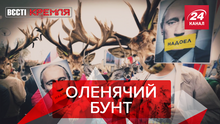 Вєсті Кремля. Слівкі: Проти чого протестують олені. Путін боїться українських товарів