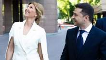 Яке вбрання обрала Олена Зеленська на інавгурацію свого чоловіка: фото