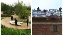 Украину атаковала непогода: смерч, сорванные крыши и затопленные дома
