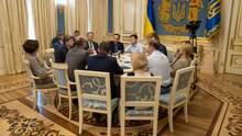О чем договорились Зеленский и председатели фракций относительно роспуска парламента