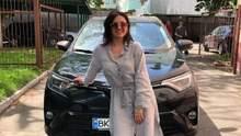 Оле Цибульской вернули украденный автомобиль: эмоциональное видео