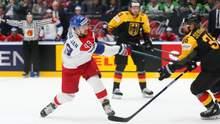 Фіни в овертаймі перемогли чинних чемпіонів світу, Чехія розгромила Німеччину в 1/4 ЧС з хокею