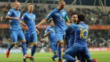 """України – США: """"синьо-жовті"""" перемогли у першому матчі чемпіонату світу U-20 (відео)"""