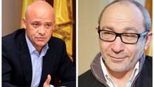 Партия мэров Кернеса и Труханова может пройти в парламент и стать участником коалиции?