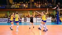 Сборные Украины по волейболу с побед стартовали в Золотой Евролиге 2019