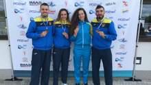 Украинские гребцы завоевали две золотые награды на этапе Кубка мира в Познани