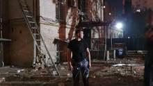 У центрі Києва пролунав потужний вибух: фото, відео