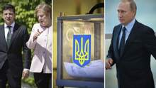 Головні новини 18 червня: зустріч Зеленського з Меркель, його анонс для Путіна та ЦВК про вибори