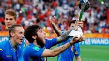 Зеленский вручил государственные награды футболистам сборной Украины U-20