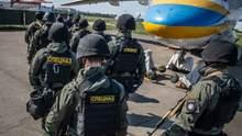Перед выборами в Раду на дежурство заступила авиация МВД: фото