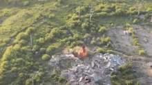 Украинские военные уничтожили позиции боевиков под Авдеевка: эффектное видео