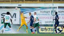 """""""Ворскла"""" та """"Дніпро-1"""" зіграли в результативну нічию в Полтаві, Кравченко був вилучений (відео)"""